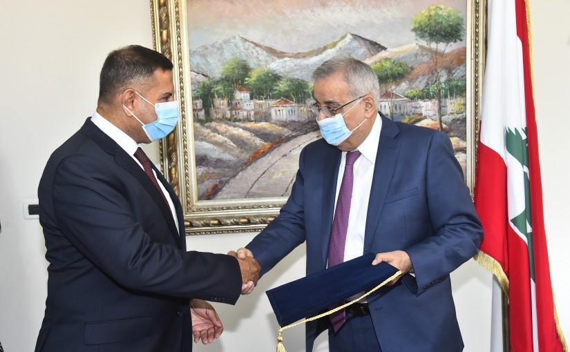 Minister Abdullah Abi Habib meets Iraqi Ambassador