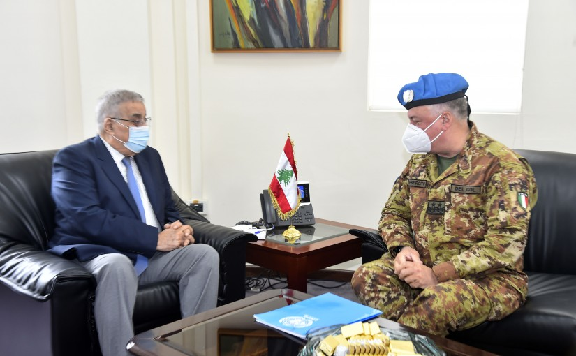 Minister Abdullah Abi Habib meets a Delegation from United Nation
