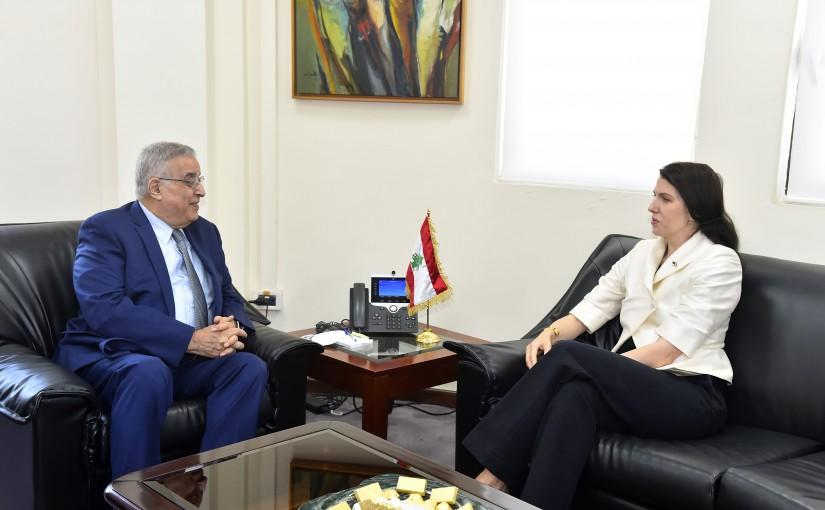 Minister Abdullah Abi Habib meets Australian Ambassador