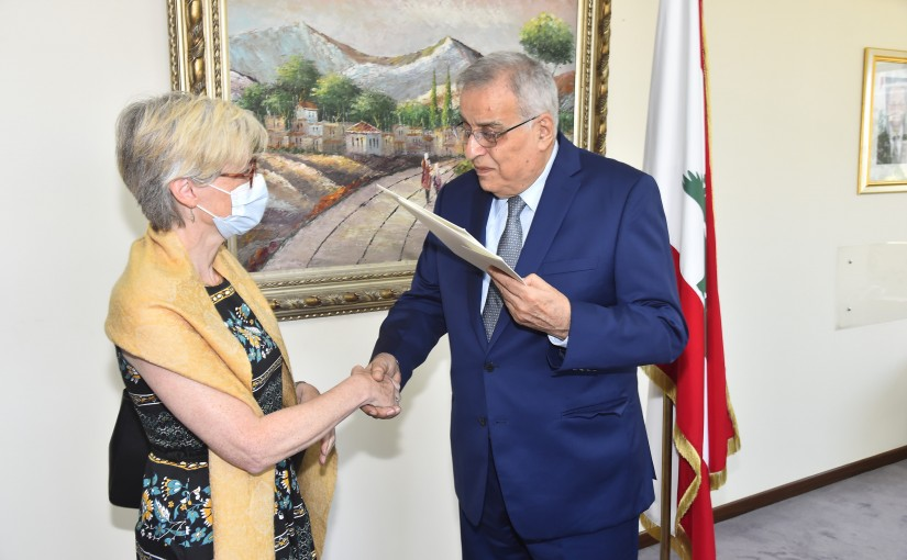 Minister Abdullah Abi Habib meets Island Ambassador