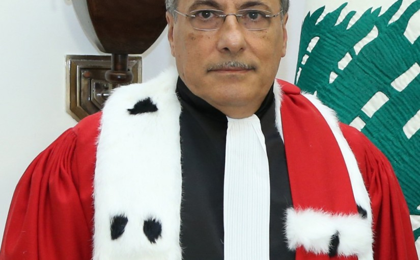Minister of Justice Judge Henry Khoury
