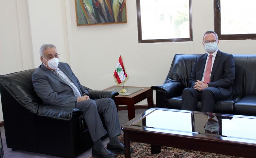 Minister Abdullah abi Habib meets Turkish Ambassador
