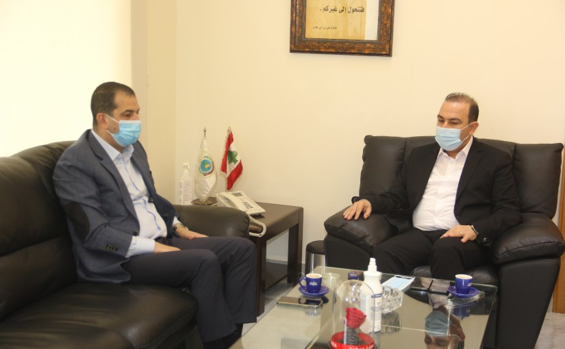 Minister Abass Mourtada meets a Delegation from WFP