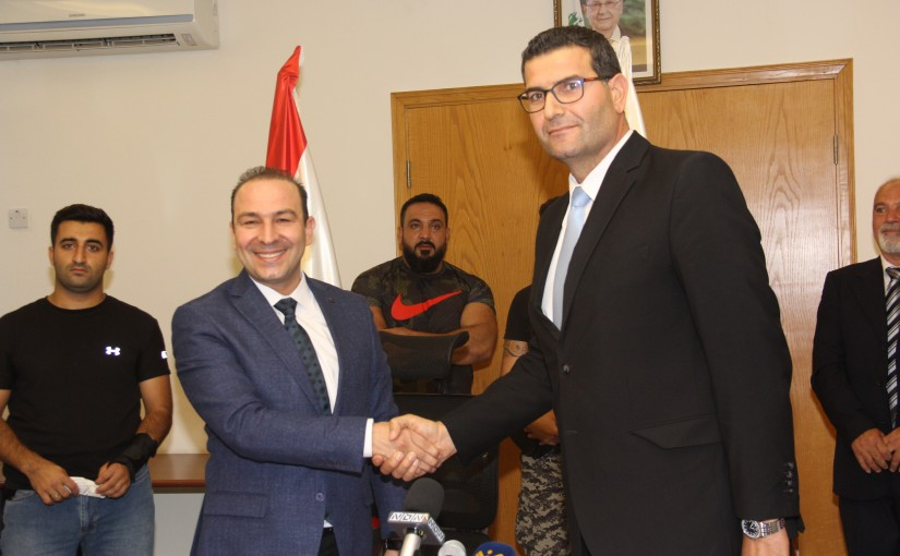 Handing over Ceremony at the Ministry of Agriculture