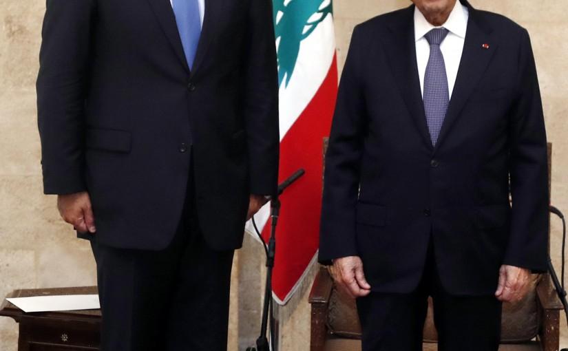 President Michel Aoun meets Prime Minister of the Hashemite Kingdom of Jordan Bisher Al Khasawneh.