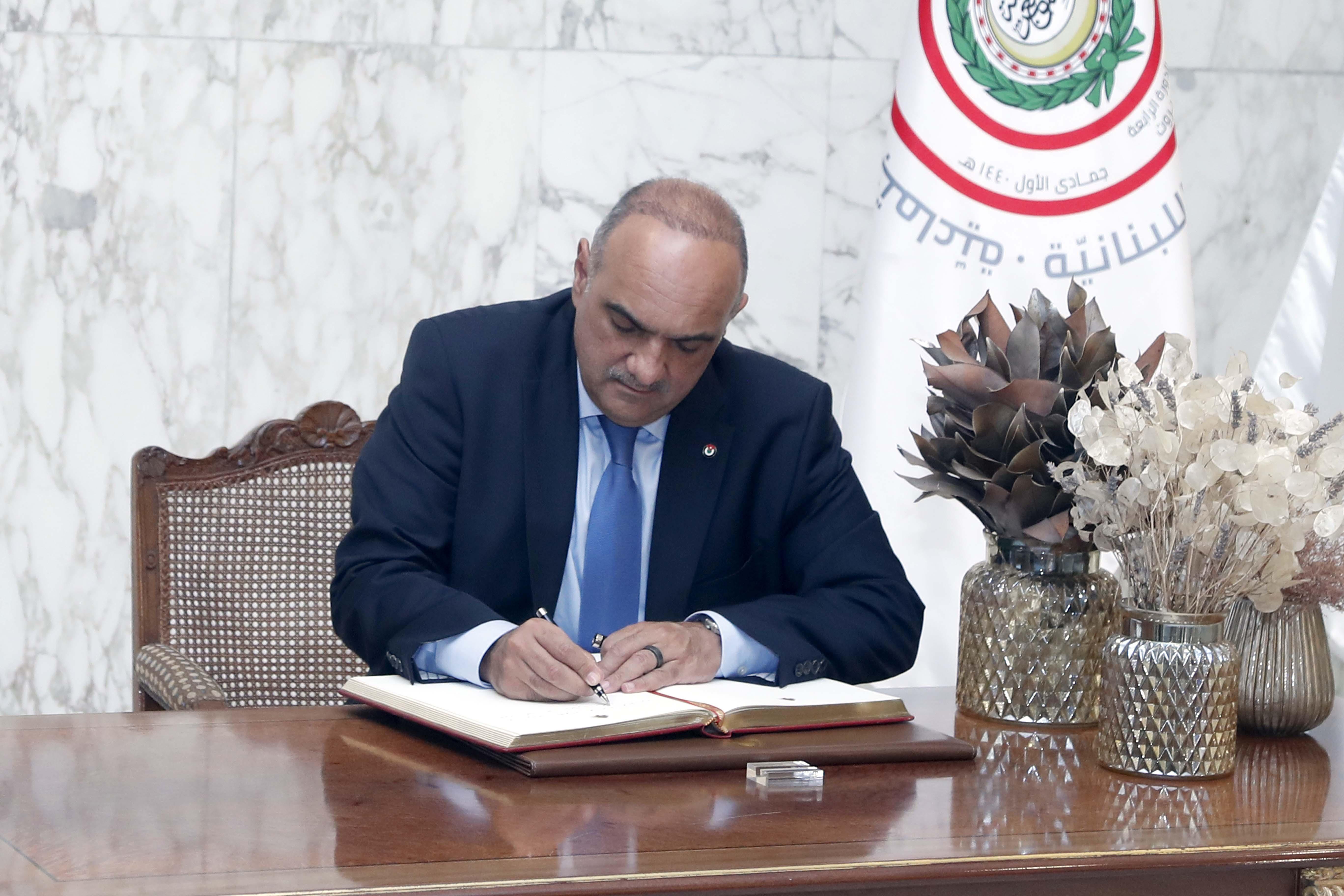 Jordanian PM Bisher Al Khasawneh 06
