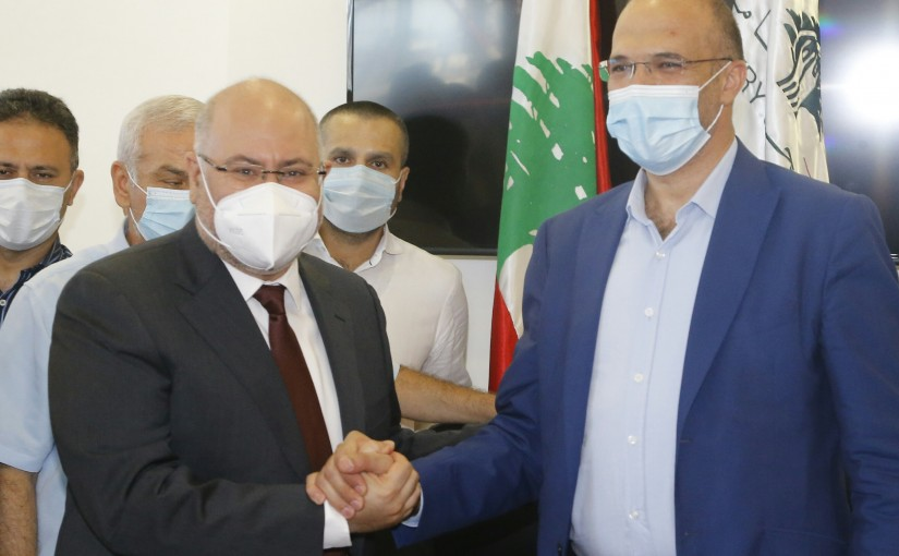 Handing over Ceremony at the Ministry of Health