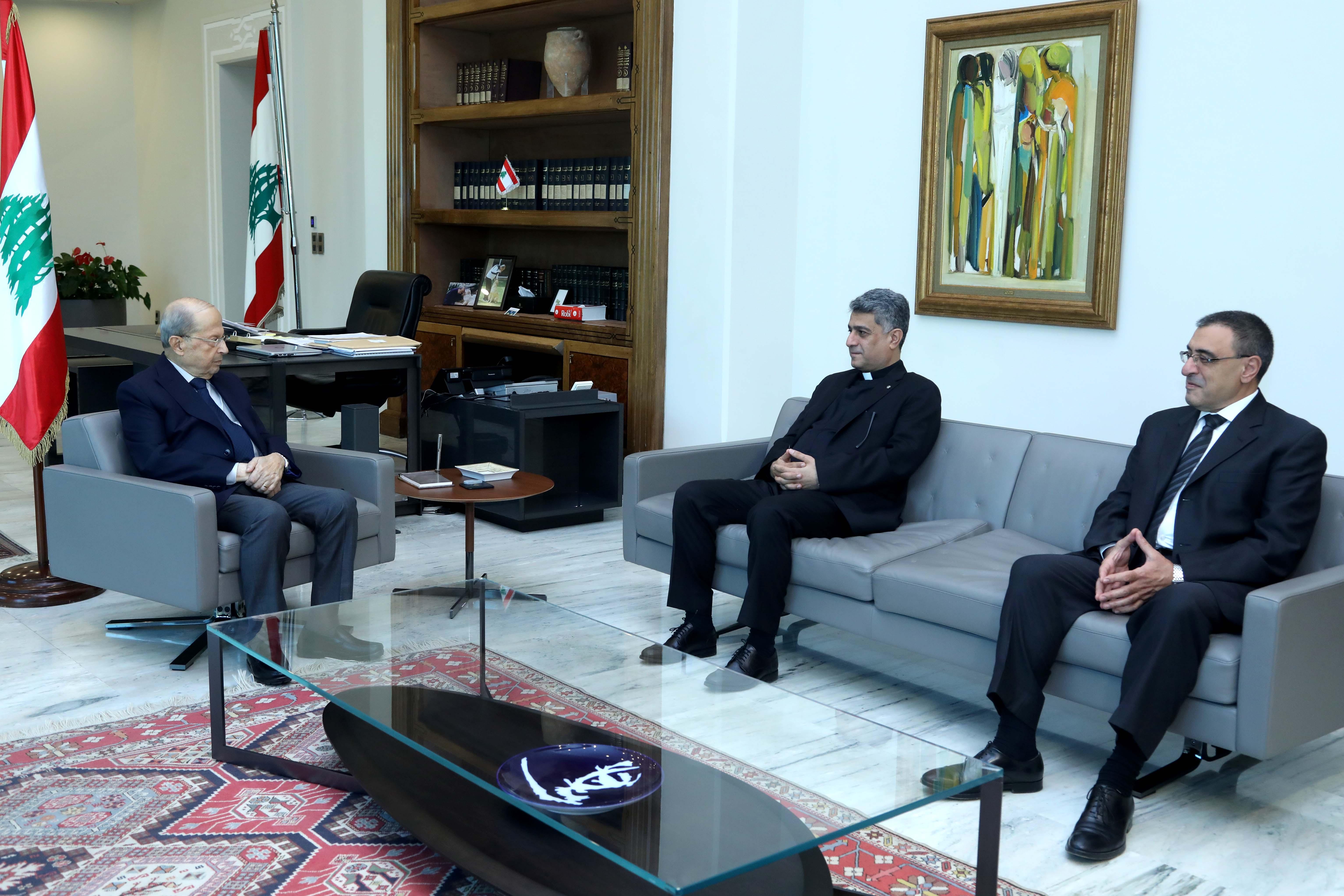 1 - Father Ziad Haddad & Dr. Nikola Hajjar