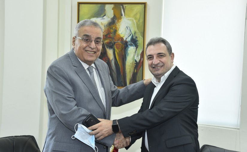 Minister Abdullah Abi Habib meets Former Minister Wael Abou Faour