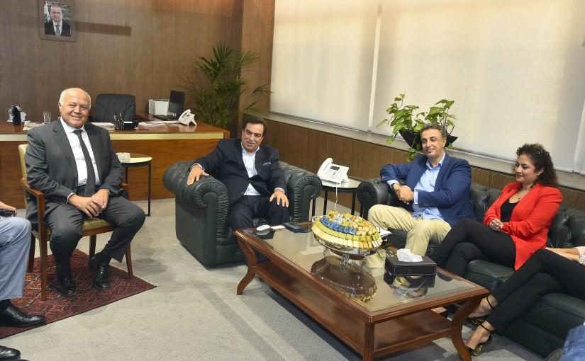 Minister George Kordahi meets a Delegation from JAD