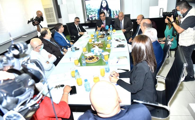 Minister George Kordahi Visits TL
