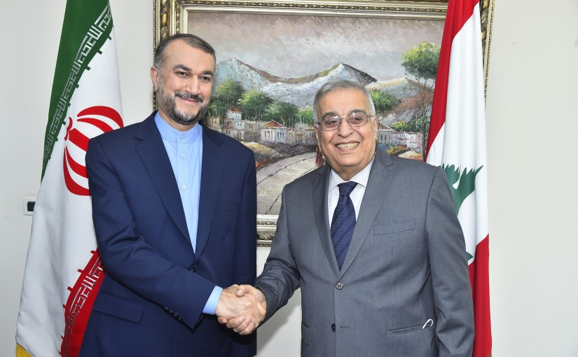 Minister Abdullah Abi Habib meets Iranian Minister of Foreign Affairs