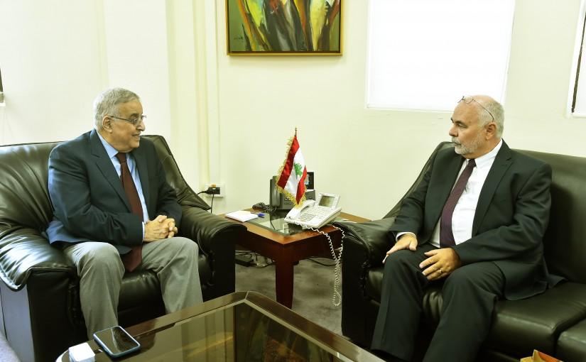 Minister Abdullah Abi Habib meets Czech Republic Ambassador