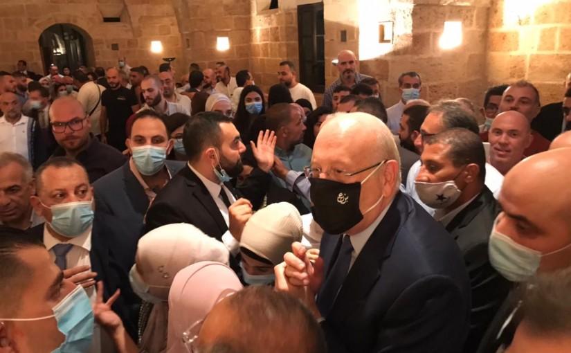 Pr Minister Najib Mikati meets a Delegation from Tripoli Families
