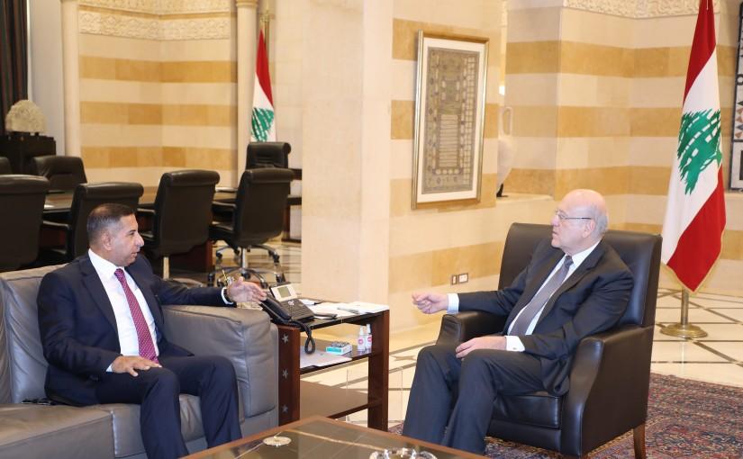 Pr Minister Najib Mikati meets Iraqi Ambassador