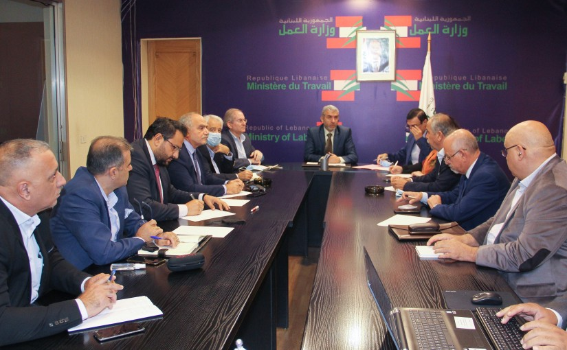 Minister Moustapha Bayram meets a Delegation from  Index Committee