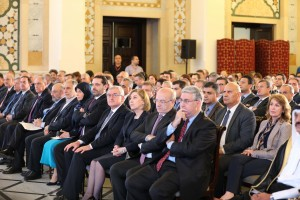 Pr Minister Saad Hariri Attends a Conference at the Grand Serail 1