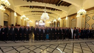 Pr Minister Saad Hariri Attends a Conference at the Grand Serail 3