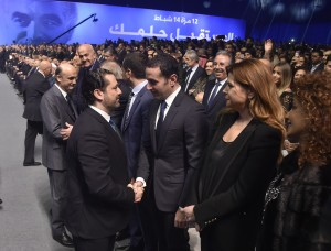 Pr Minister Saad Hariri Attends the 14 of February Memoriol 2