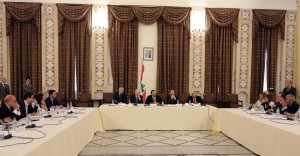 Pr Minister Saad Hariri Heading a Meeting for el Meten Region 1