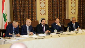 Pr Minister Saad Hariri Heading a Meeting for el Meten Region 2