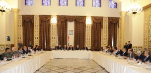 Pr Minister Saad Hariri Heading a Meeting for el Meten Region 3