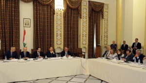 Pr Minister Saad Hariri Heading a Meeting for el Meten Region