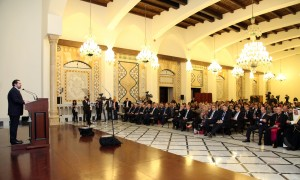 Pr Minister Saad Hariri Inaugurates the Syrian Dicplaced Conference 3