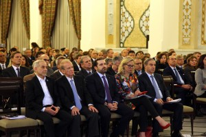 Pr Minister Saad Hariri Inaugurates the Syrian Dicplaced Conference 5