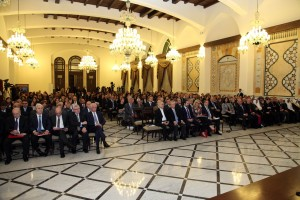 Pr Minister Saad Hariri Inaugurates the Syrian Dicplaced Conference 7