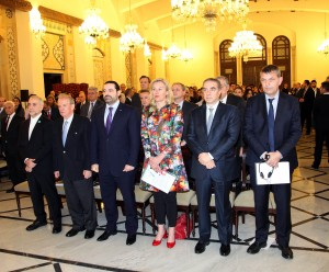 Pr Minister Saad Hariri Inaugurates the Syrian Dicplaced Conference 9