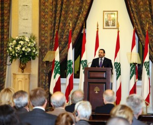 Pr Minister Saad Hariri Inaugurates the Syrian Dicplaced Conference