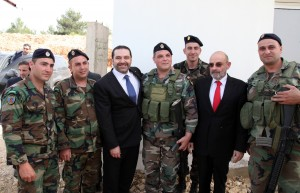 Pr Minister Saad Hariri Visits the Lebanese South Border 1