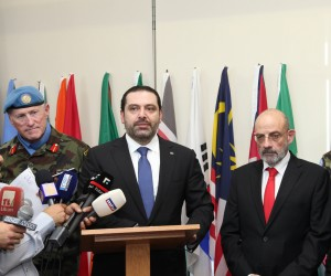 Pr Minister Saad Hariri Visits the Lebanese South Border 10