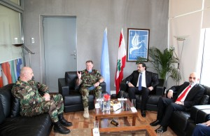 Pr Minister Saad Hariri Visits the Lebanese South Border 11