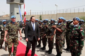Pr Minister Saad Hariri Visits the Lebanese South Border 12