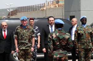 Pr Minister Saad Hariri Visits the Lebanese South Border 15