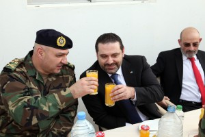 Pr Minister Saad Hariri Visits the Lebanese South Border 2