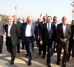 Pr Minister Saad Hariri Visits the Lebanese South Border 21