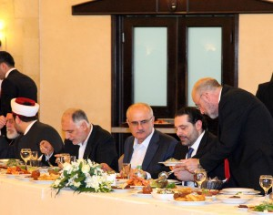 Pr Minister Saad Hariri Visits the Lebanese South Border 23