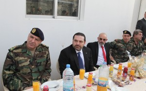Pr Minister Saad Hariri Visits the Lebanese South Border 4