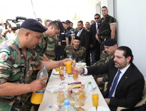 Pr Minister Saad Hariri Visits the Lebanese South Border 5