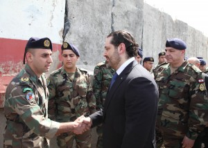 Pr Minister Saad Hariri Visits the Lebanese South Border 8