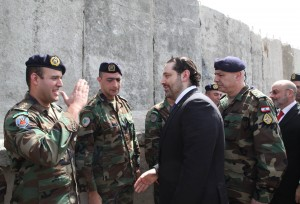 Pr Minister Saad Hariri Visits the Lebanese South Border 9