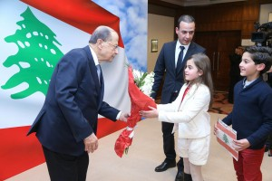 Reception Held By The Lebanese Embassy in Jordan in Honors of President Michel Aoun 6