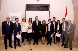 Pr Minister Saad Hariri Attends a Canference at the Grand Serail 4