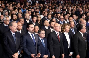 Pr Minister Saad Hariri Attends the Memorial of Pr Minister Rafic Hariri at Biel 17