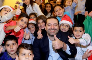 Pr Minister Saad Hariri Celebrating Christmas at the the Grand Serail 1