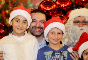 Pr Minister Saad Hariri Celebrating Christmas at the the Grand Serail 3