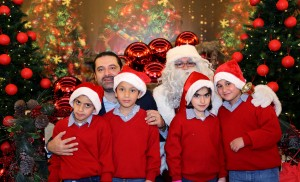 Pr Minister Saad Hariri Celebrating Christmas at the the Grand Serail 4